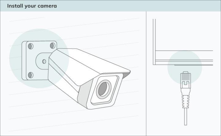 Instale sua câmera